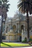 Colina de Santa Lucía en Santiago de Chile Fotos de archivo