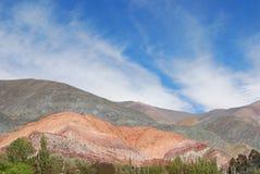 Colina de siete colores Fotografía de archivo libre de regalías