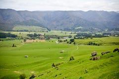 Colina de Takaka, Nueva Zelandia Fotos de archivo