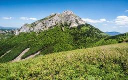 Colina de Velky Rozsutec en las montañas de Mala Fatra en Eslovaquia Imagen de archivo libre de regalías