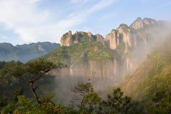 Colina de Yan-Dang y cielo azul Imagen de archivo