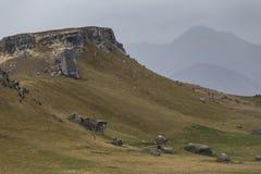 Colina del castillo Imagenes de archivo