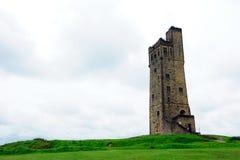 Colina del castillo, Huddersfield Imagen de archivo