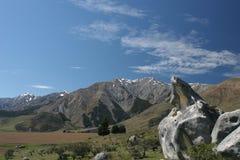 Colina del castillo, Nueva Zelandia Imagen de archivo