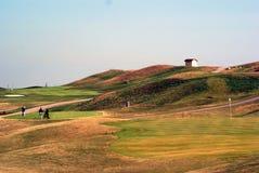 Colina del golf Imagen de archivo libre de regalías