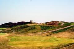 Colina del golf Imagen de archivo