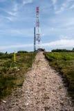 Colina del luka de Velka en las montañas de Mala Fatra en Eslovaquia Imagenes de archivo