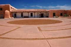 Colina del museo, Santa Fe, New México fotos de archivo