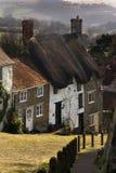 Colina del oro - Shaftsbury - Dorset - Inglaterra Imagenes de archivo