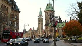 Colina del parlamento de Elgin Street almacen de video