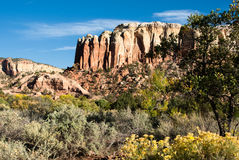 Colina del rancho del fantasma Fotografía de archivo libre de regalías