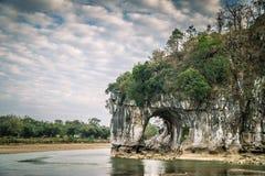 Colina del tronco del elefante Fotografía de archivo