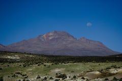 Colina en parque nacional peruano Fotografía de archivo libre de regalías