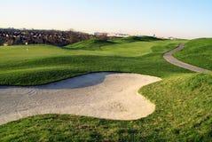Colina hermosa del golf Fotos de archivo