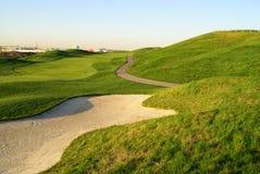 Colina hermosa del golf Imágenes de archivo libres de regalías