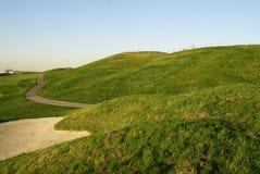 Colina hermosa del golf Foto de archivo