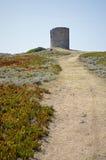 Colina a la torre Fotografía de archivo libre de regalías