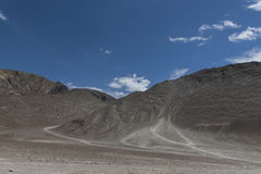 Colina magnética en Leh, ladakh, la India, Asia imagen de archivo