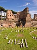 Colina Roma Italia de Palatine Imagen de archivo