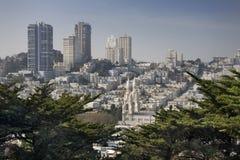 Colina rusa, San Francisco imagenes de archivo