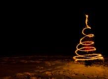 Colina silenciosa ligera del sitio oscuro Imagen de archivo libre de regalías