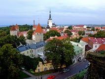 Colina Tallinn de Toompea Foto de archivo libre de regalías
