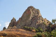 Colina, Troina sicilia Imagenes de archivo