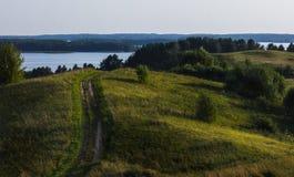 Colina verde Imagen de archivo libre de regalías