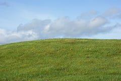 Colina verde Imágenes de archivo libres de regalías
