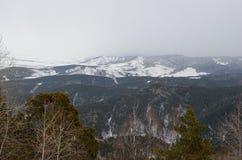 Colinas de Altai Fotografía de archivo libre de regalías