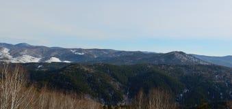 Colinas de Altai Foto de archivo