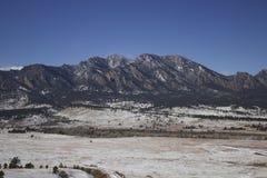 Colinas de Boulder Fotos de archivo libres de regalías