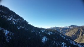 Colinas de Colorado Fotos de archivo