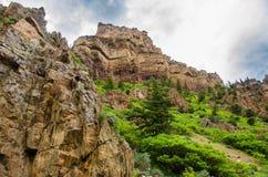 Colinas de Colorado Rocky Mountain Imagenes de archivo