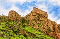 Colinas de Colorado Rocky Mountain Imágenes de archivo libres de regalías
