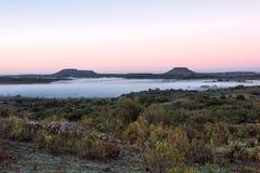 Colinas de Cuchilla del Ombu en Tacuarembo, Uruguay Fotos de archivo