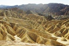 Colinas de Death Valley Fotos de archivo