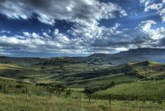 Colinas de Drakensberg Fotografía de archivo libre de regalías