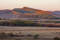 Colinas de Inner Mongolia Imagenes de archivo