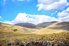 Colinas de Perú Imagen de archivo libre de regalías