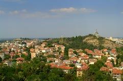 Colinas de Plovdiv Imágenes de archivo libres de regalías