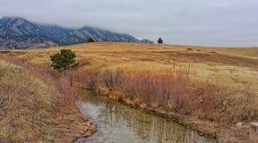 Colinas de Rocky Mountains fotografía de archivo