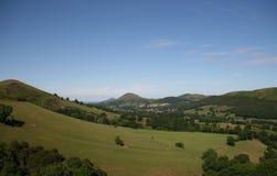 Colinas de Shropshire Imagen de archivo libre de regalías