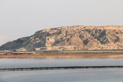 Colinas de Sodom y de Gomorra. Israel Fotos de archivo libres de regalías