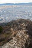 Colinas de Tbilisi fotografía de archivo libre de regalías