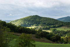 Colinas de Toscana Foto de archivo libre de regalías