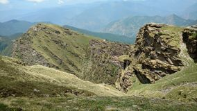 Colinas de Uttarakhand, la India imágenes de archivo libres de regalías