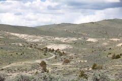 Colinas de Wyoming Imágenes de archivo libres de regalías