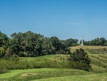 Colinas del campo de batalla de la guerra civil de Vicksburg Imagen de archivo