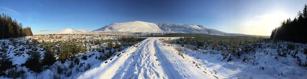 Colinas del invierno fotos de archivo libres de regalías